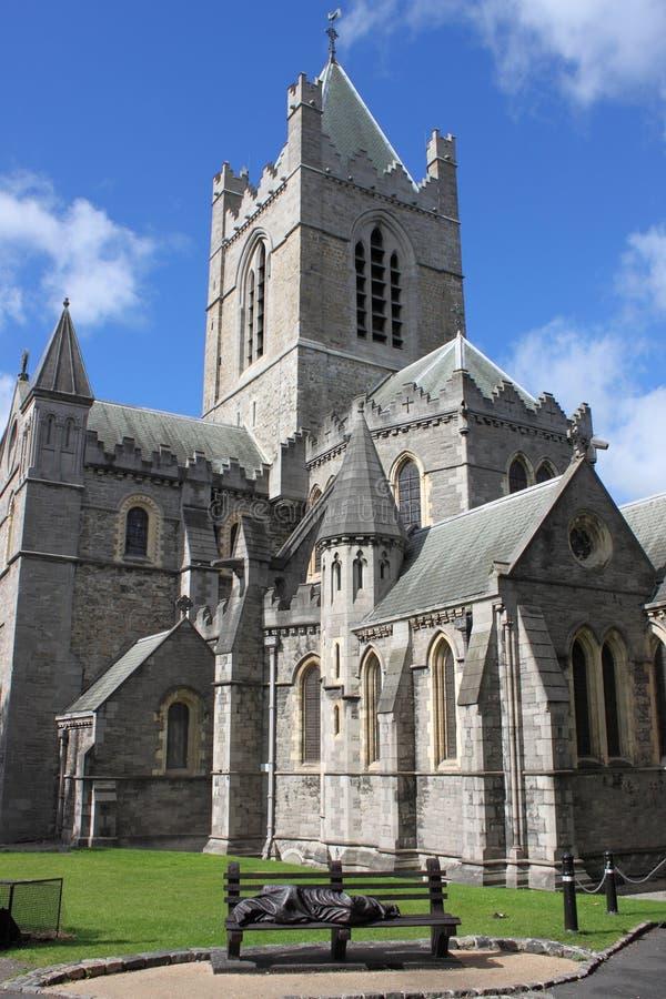 Собор St. Patrick в Дублине стоковая фотография