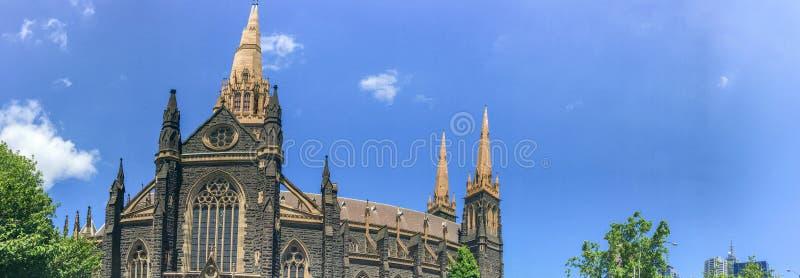 Собор St. Patrick римско-католический в Мельбурне, Виктории, a стоковые фото