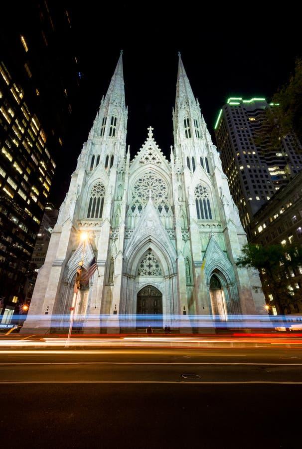 Собор St. Patrick s стоковое фото rf