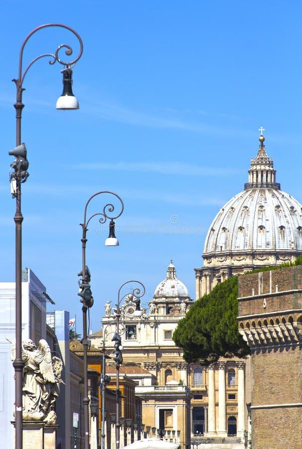 Собор St Paul в Риме, Италии стоковая фотография