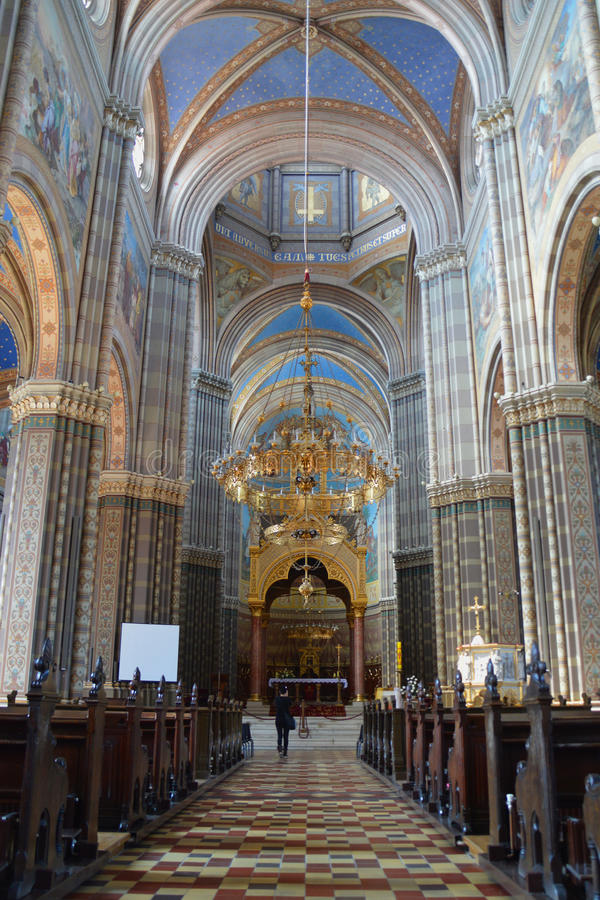 Собор St Peter в akovo  Ä стоковые фотографии rf