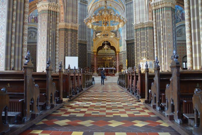 Собор St Peter в akovo  Ä стоковые изображения