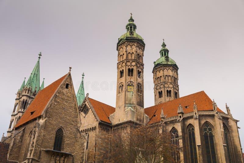 Собор St Peter и St Paul - Naumburg стоковое фото
