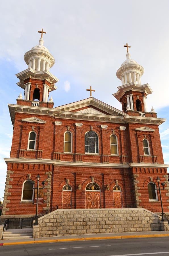 Собор St. Thomas Aquinas в Reno, Неваде стоковые изображения