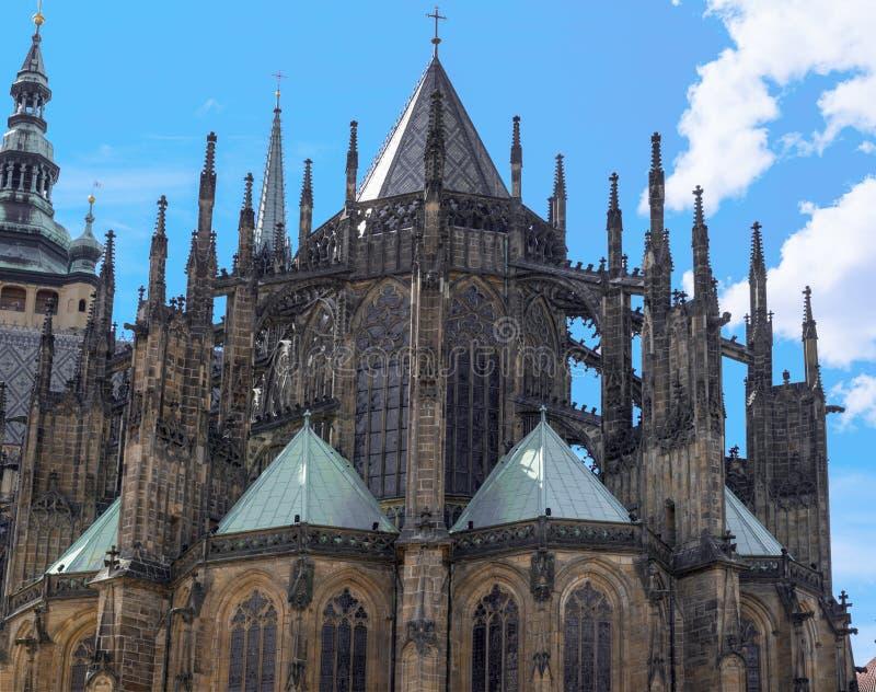 Собор St Vitus в Праге стоковая фотография