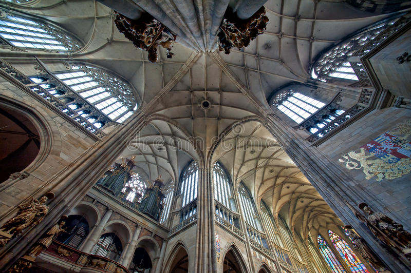 Собор St. Vitus стоковое фото rf