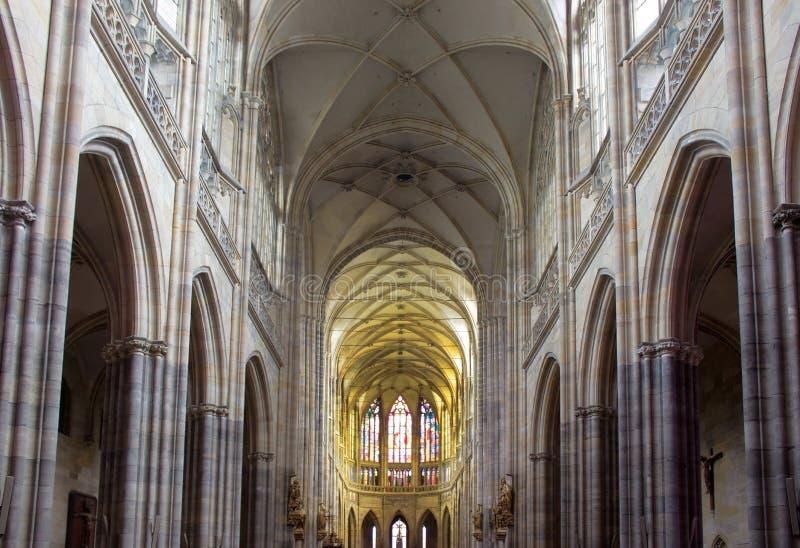 Собор St Vitus стоковое изображение rf