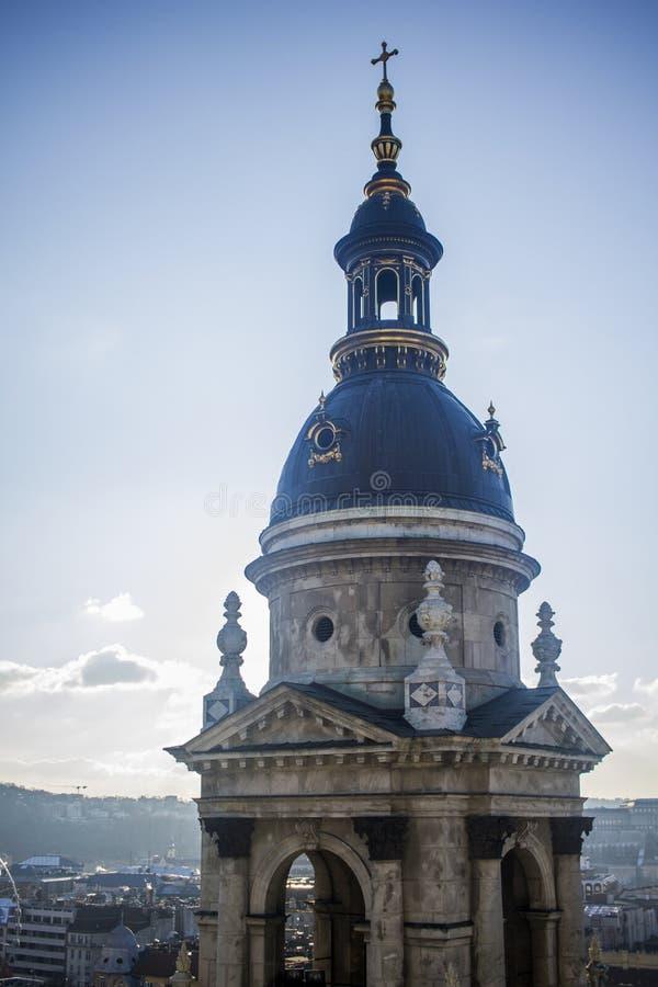 Собор stephens St в Будапеште стоковое изображение rf