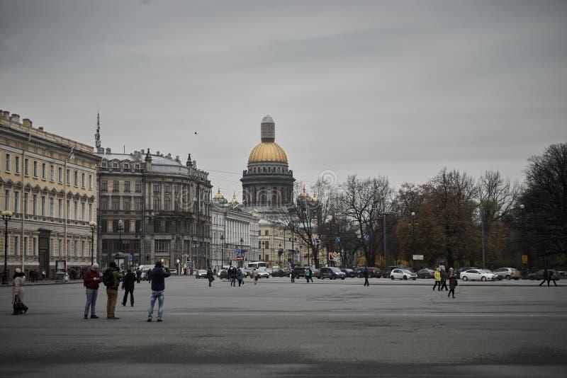 Собор StIsaac, Санкт-Петербург, Россия стоковая фотография rf