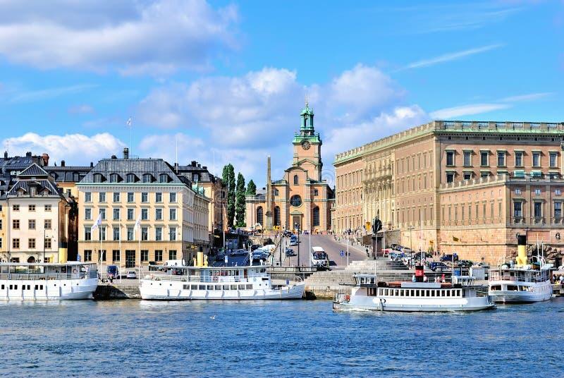 собор stockholm стоковые изображения
