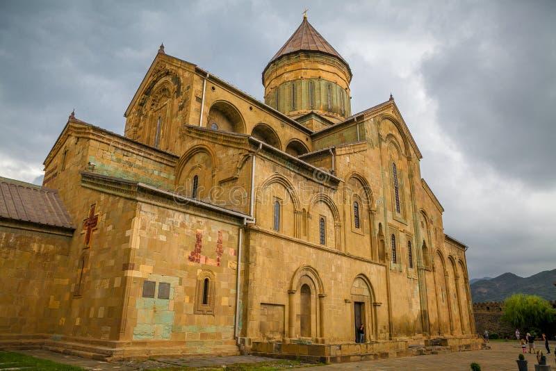 Собор Svetitskhoveli в Mtskheta Бывший собор Грузия стоковое фото rf
