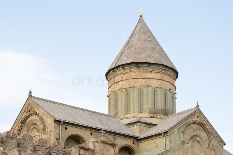 Собор Svetitskhoveli, Georgia стоковые изображения