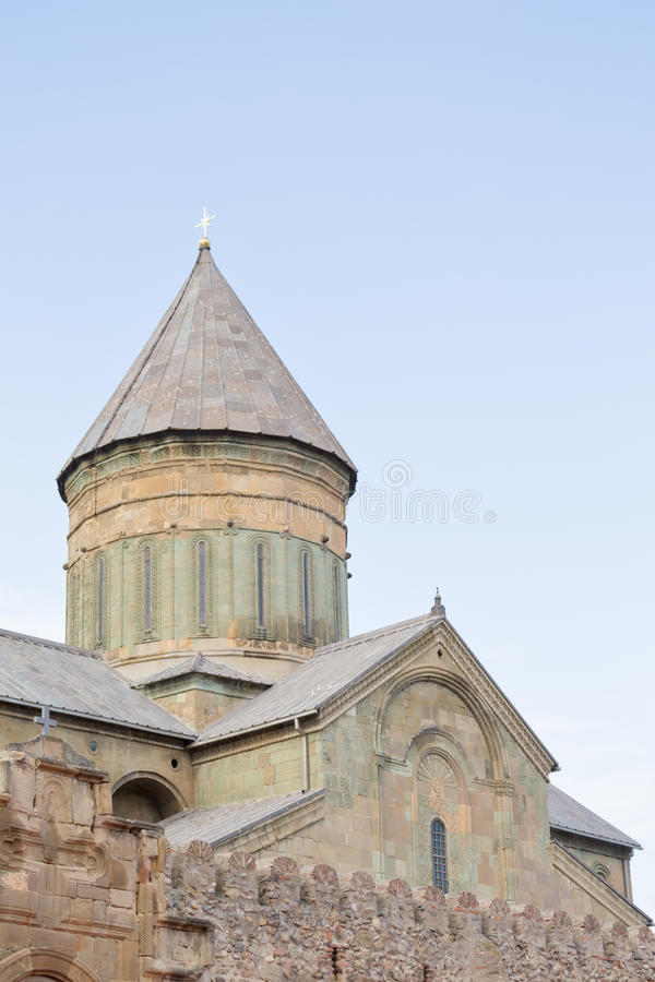 Собор Svetitskhoveli, Georgia стоковое изображение