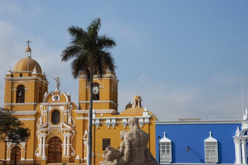 Собор Trujillo стоковые фотографии rf