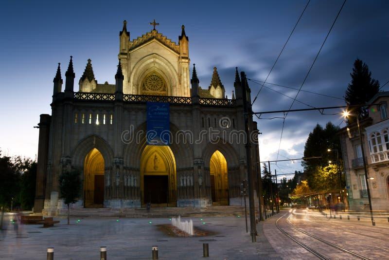 Собор Vitoria стоковое фото rf