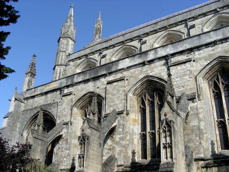Download собор winchester стоковое изображение. изображение насчитывающей строя - 6858053
