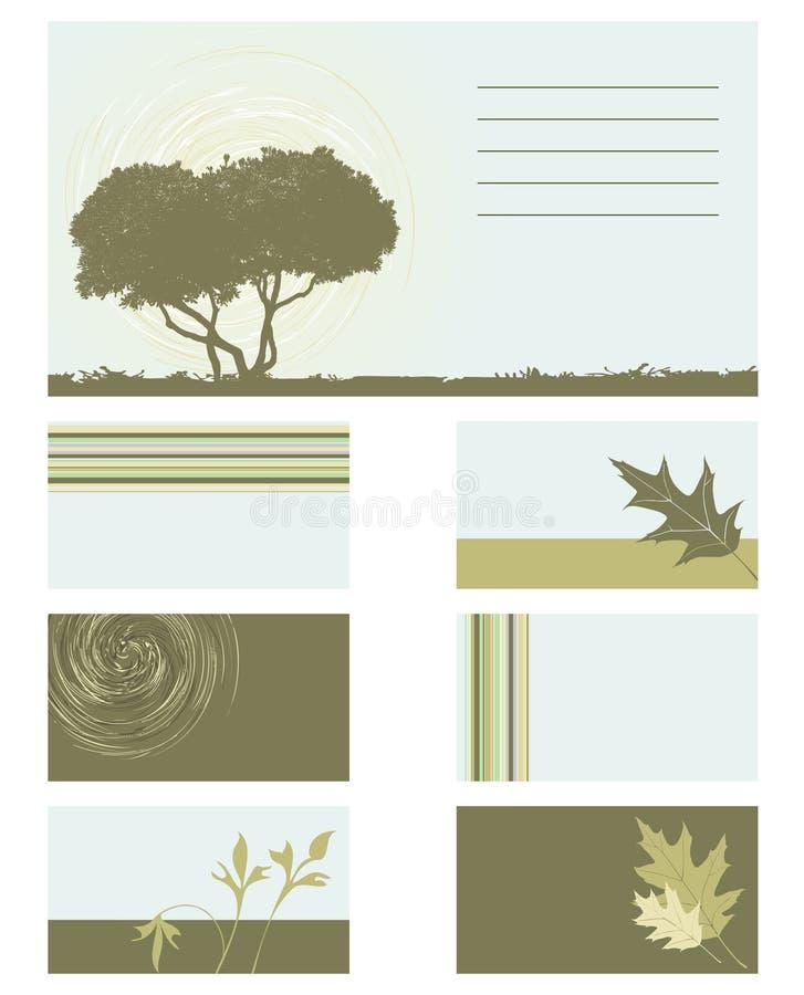 собрание визитной карточки бесплатная иллюстрация