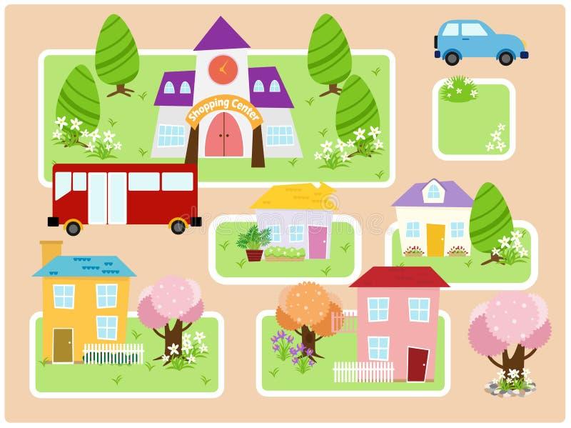 собрание города бесплатная иллюстрация