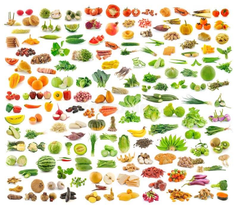 Собрание еды стоковые изображения rf