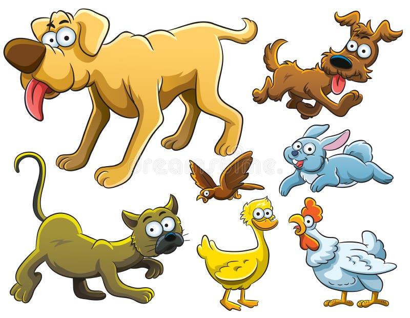 собрание животных бесплатная иллюстрация