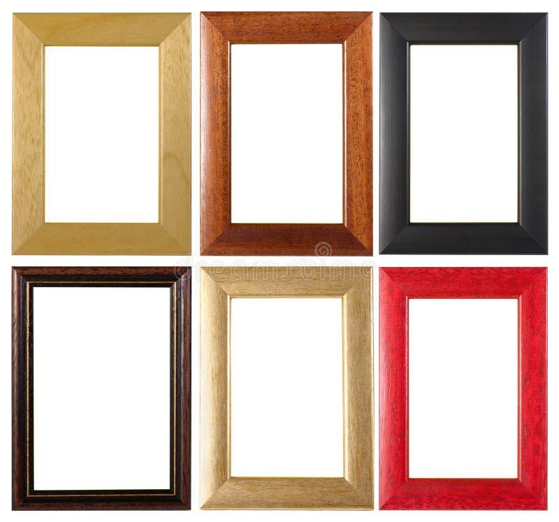 Собрание картинных рамок стоковые изображения rf