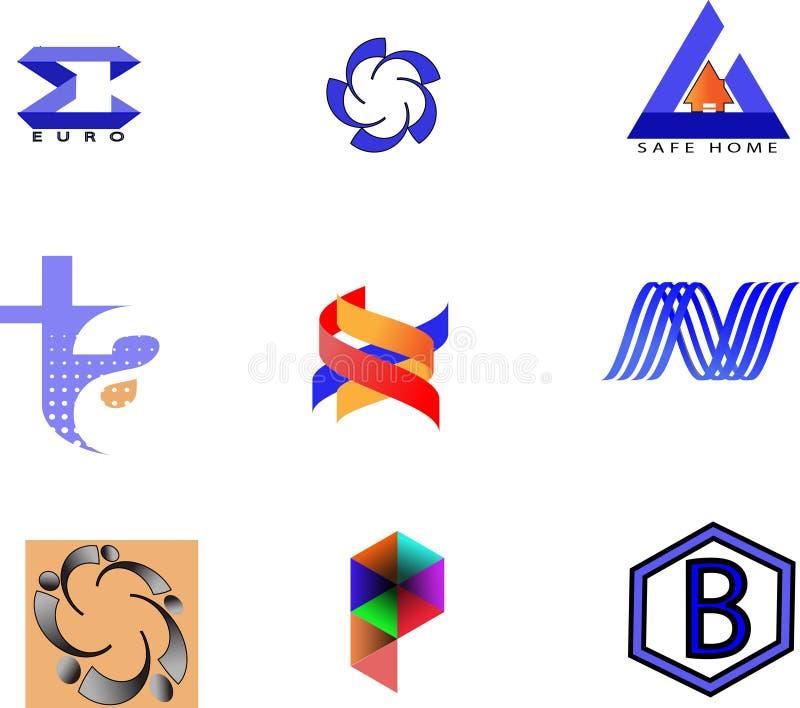 Собрание логосов компании бесплатная иллюстрация
