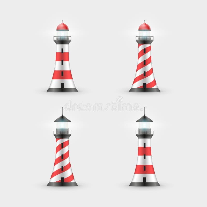 Собрание маяка бесплатная иллюстрация