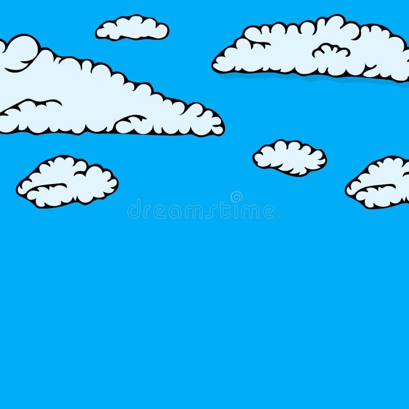 Собрание неба облака бесплатная иллюстрация
