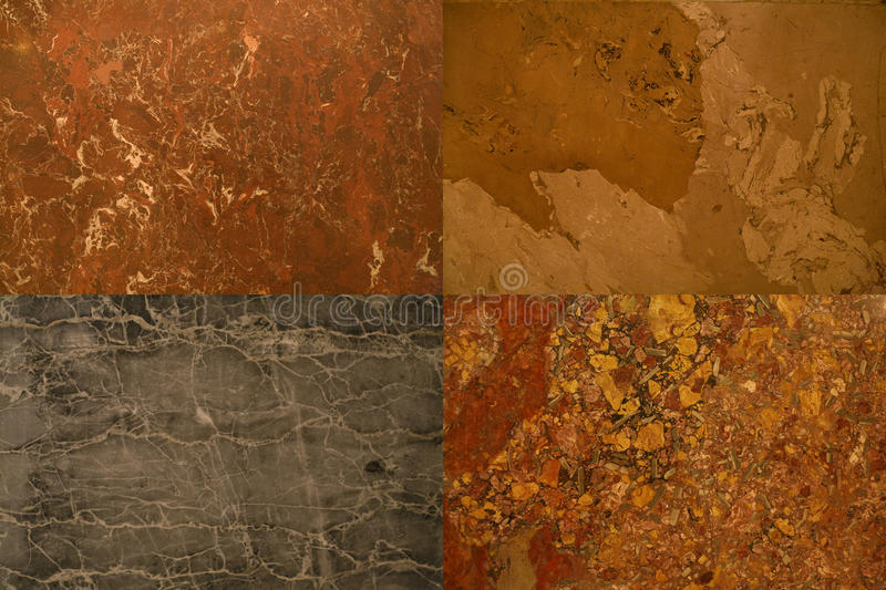 собрание облицовывает текстуры стоковое фото