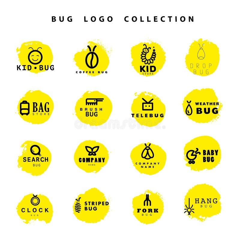 Собрание логотипа черепашки вектора плоское бесплатная иллюстрация