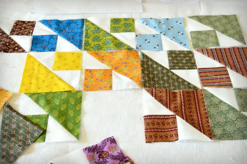 Собрание лоскутного одеяла стоковая фотография