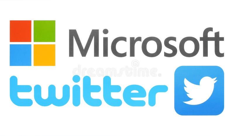Собрание популярных логотипов технологии бесплатная иллюстрация