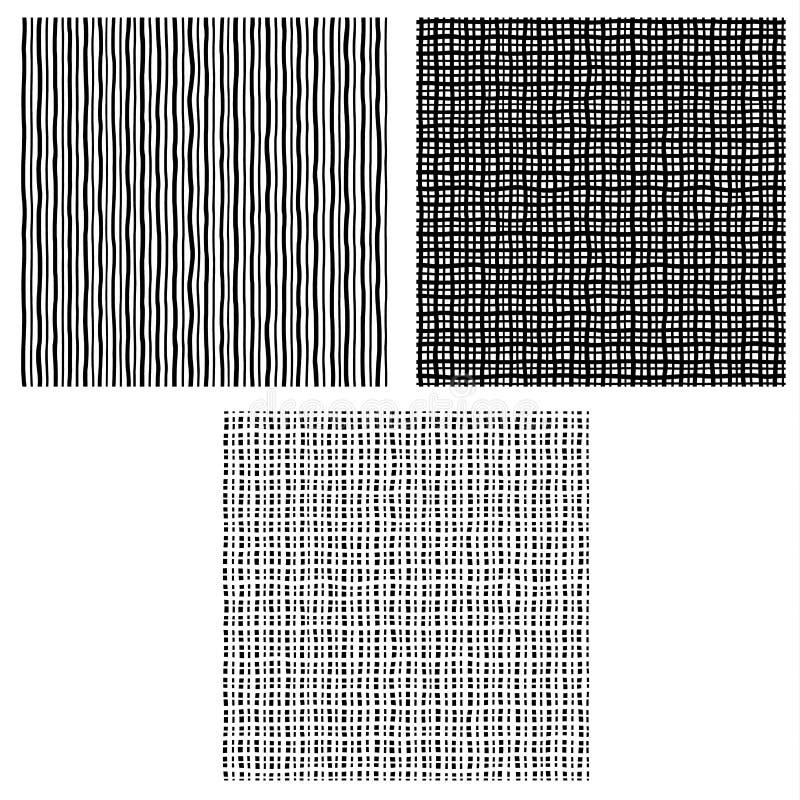 Собрание предпосылок используя линию сложной формы, иллюстрация вектора