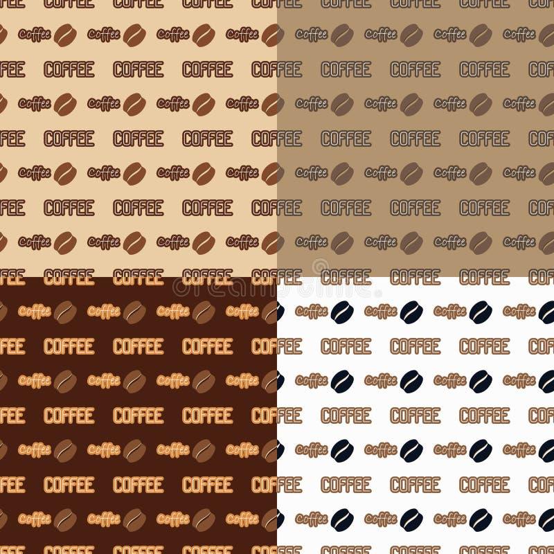 Собрание предпосылок кофе бесплатная иллюстрация