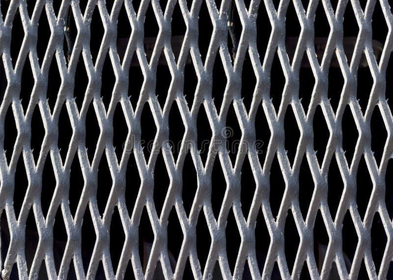 Собрание предпосылок - решетка стали текстуры стоковые изображения rf