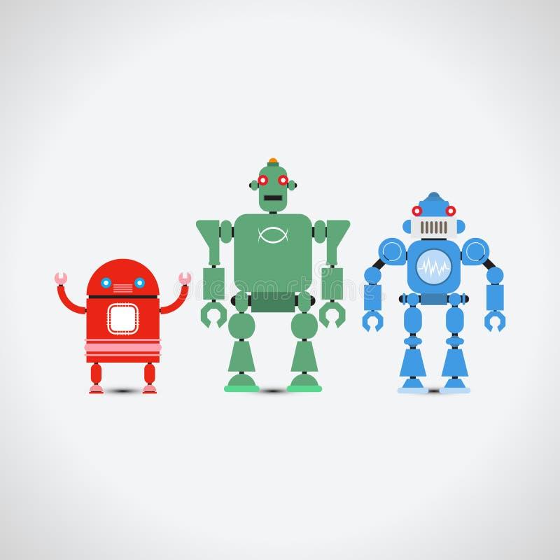 Собрание робота бесплатная иллюстрация