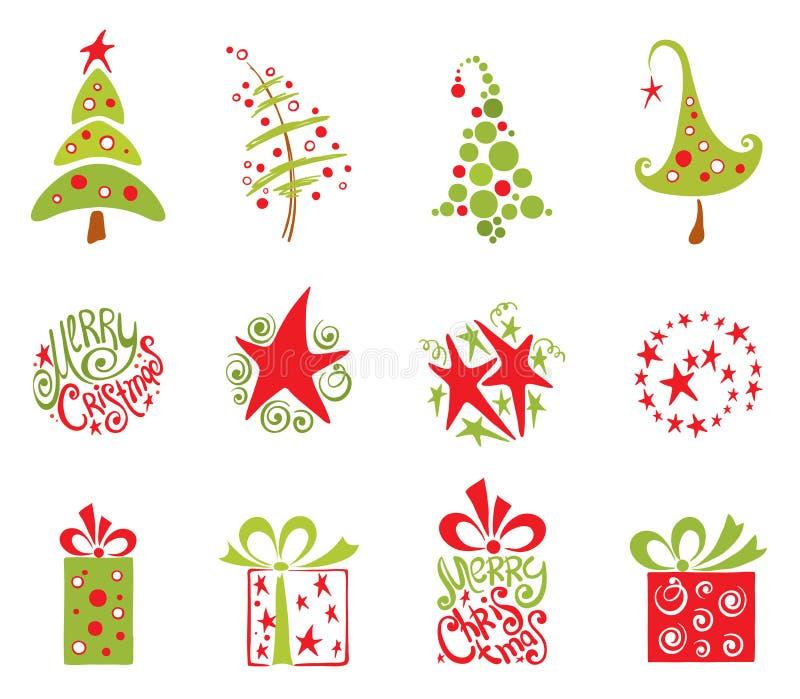собрание рождества бесплатная иллюстрация