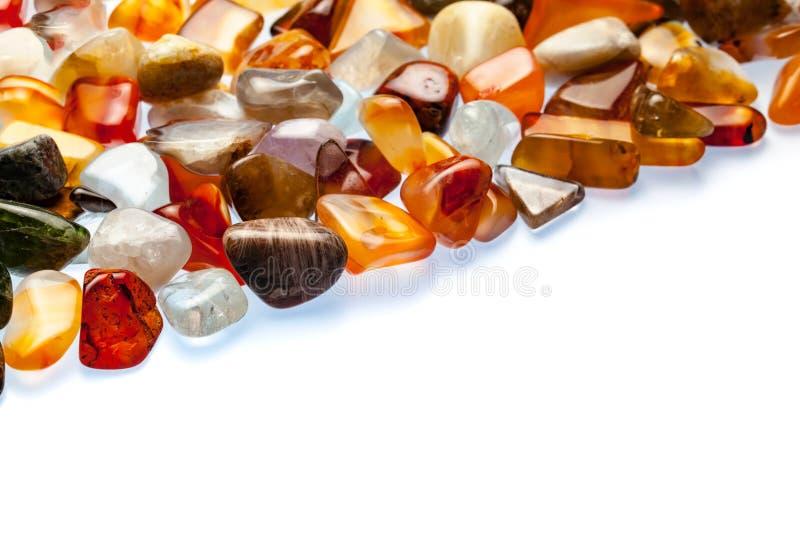 Собрание самоцветных камней стоковые фотографии rf
