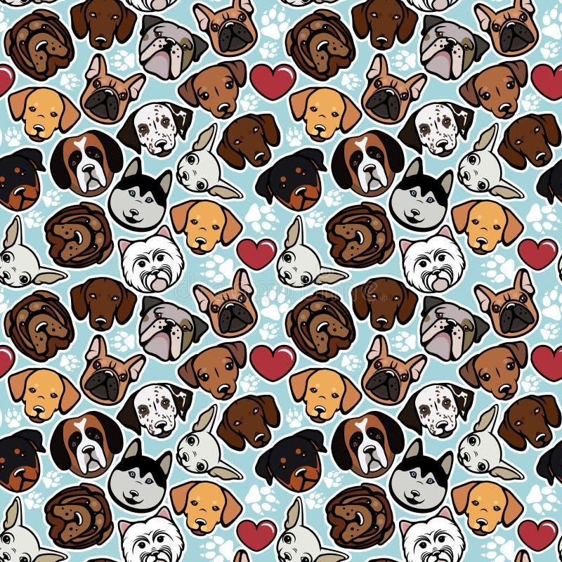 Собрание собаки иллюстрация вектора