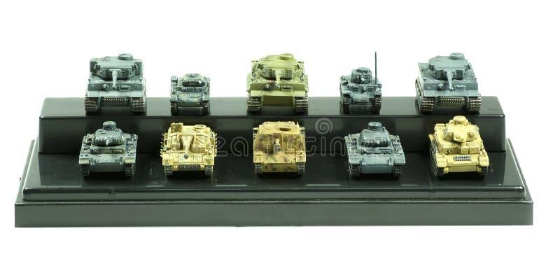 Собрание танков армии стоковая фотография rf