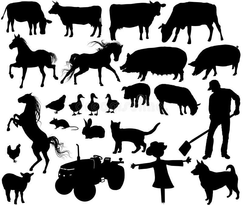Собрание фермы стоковое фото rf