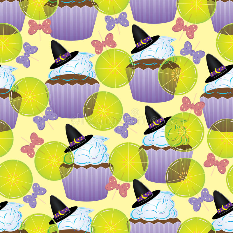 Собрание 4 хеллоуина бесплатная иллюстрация