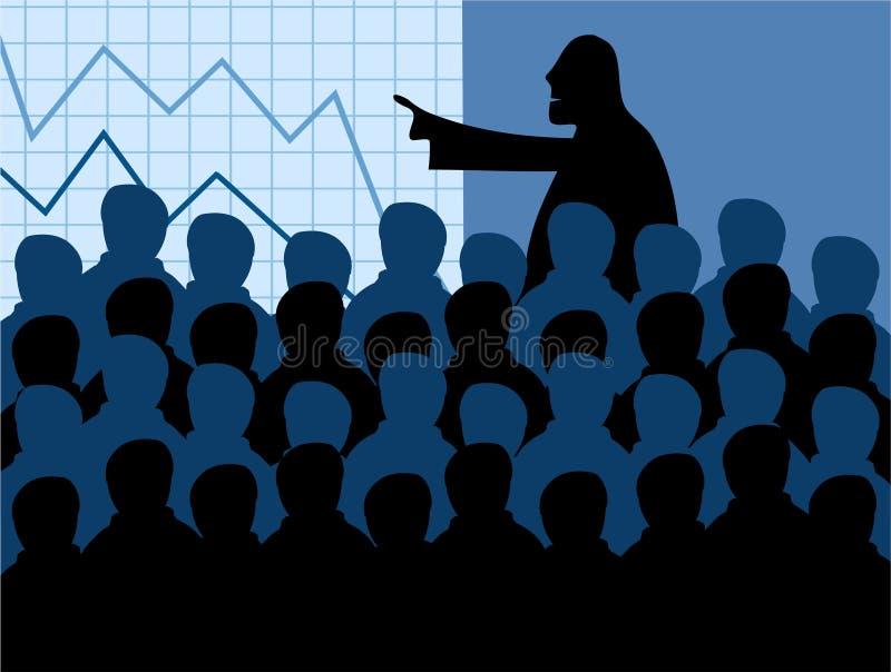 собрание членов управления бесплатная иллюстрация