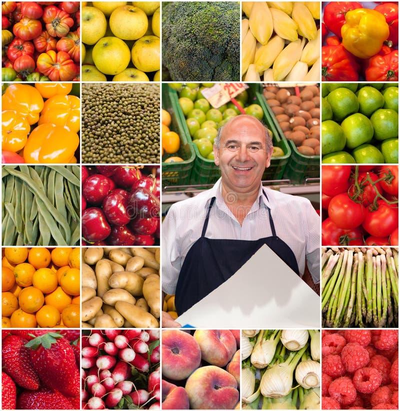 Собрание Greengrocer стоковая фотография rf