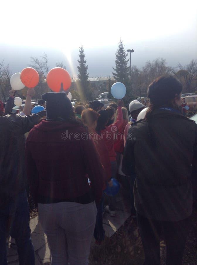 Событие воздушного шара стоковые фотографии rf