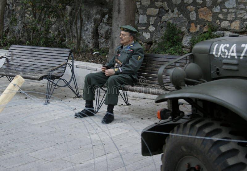 Событие Второй Мировой Войны коммеморативное стоковая фотография rf