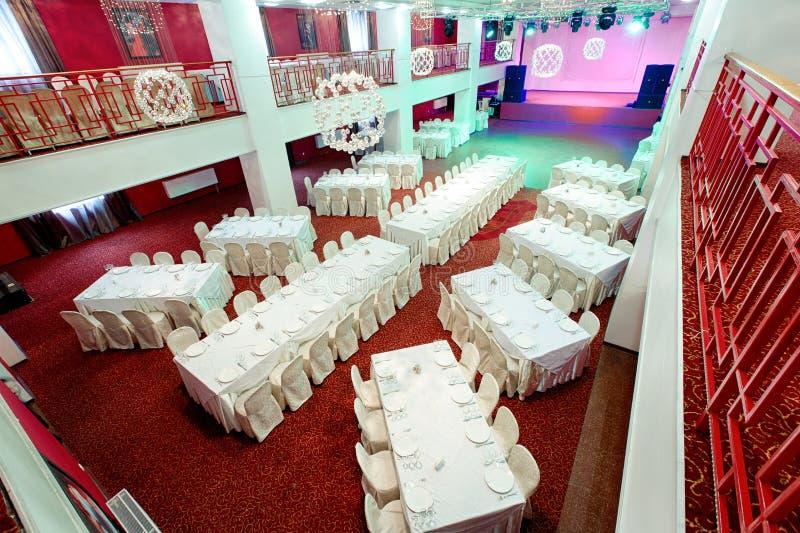 Событие ресторана Банкет, свадьба, торжество стоковое изображение rf