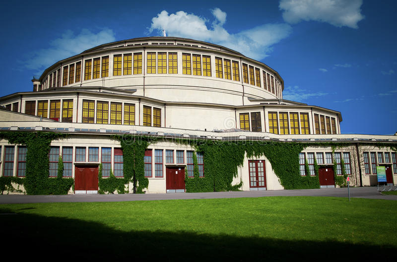 События Hall, Wroclaw стоковое фото