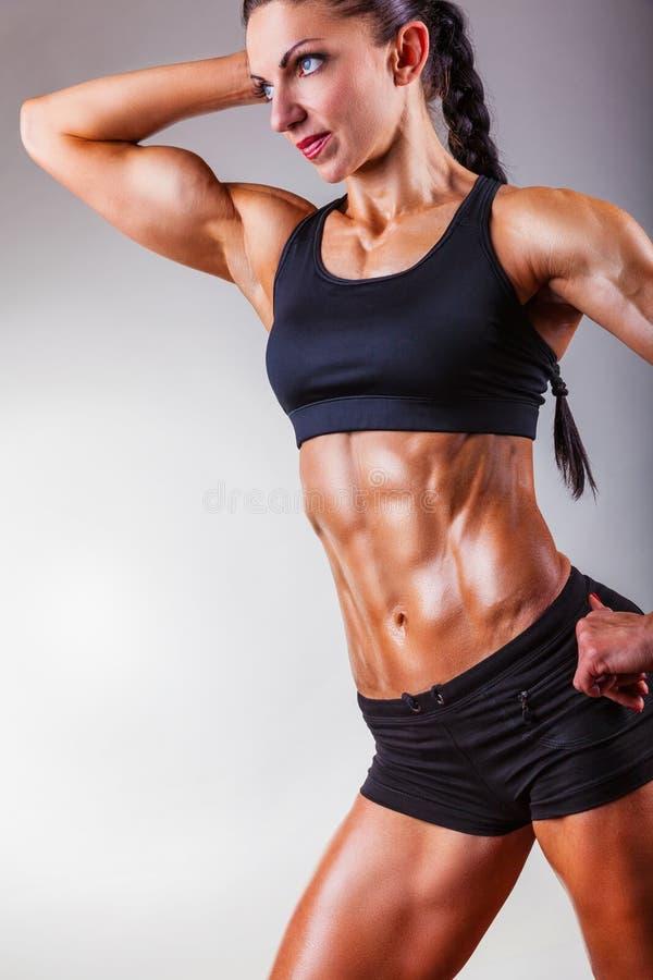 Совершенное женское тело стоковое изображение
