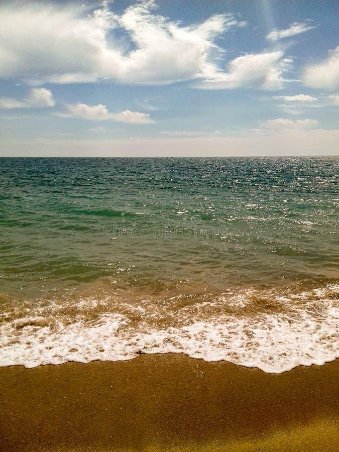 Совершенное море стоковые изображения